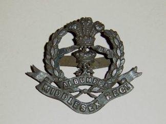 MIDDLESEX REGIMENT O.S.D. cap badge