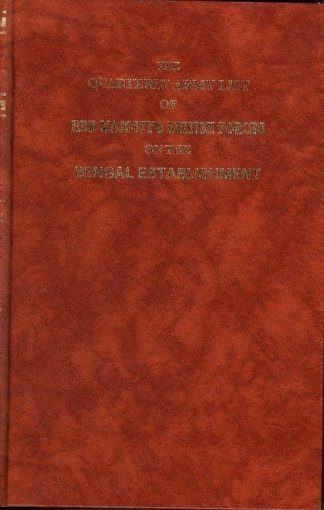 Quarterly Army List of Her Majestys British Forces on the Bengal Establishment