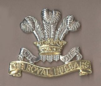 ROYAL HUSSARS (PWO) a/a cap badge