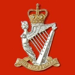 ROYAL IRISH RANGERS QC  a/a Cap Badge