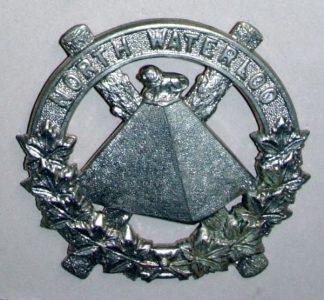 SCOTS FUSILIERS OF CANADA w/m Glengarry badge