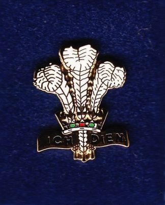 THE WELCH REGIMENT - LAPEL BADGE