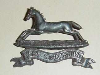 THE WEST YORKSHIRE REGIMENT OSD Bronze cap badge