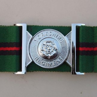 THE YORKSHIRE REGIMENT Interlocking Buckle Stable Belt