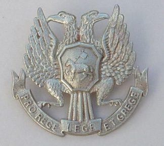 TRINITY COLLEGE GLENALMOND w/m Glengarry badge