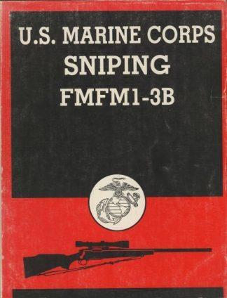 U.S. MARINE CORPS SNIPING FMFM1-3B