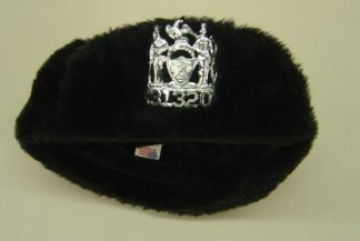 S. Police Patrolman's Winter Fur cap