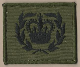 WARRANT OFFICER 2ND CLASS, CROWN IN WREATH,