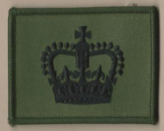 WARRANT OFFICER CLASS 2, embroidered patch