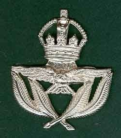 WARRANT OFFICERS Cap Badge K.C.