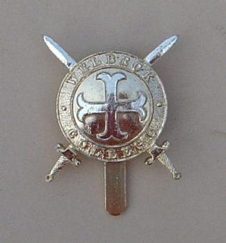 WELLBECK COLLEGE, WORKSOP, NOTTS. a/a cap badge