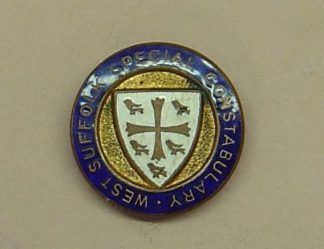 EAST RIDING SPECIAL CONSTBULARY lapel badge, ename
