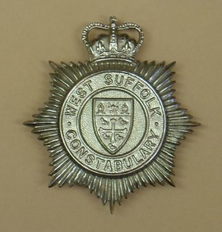 EAST SUFFOLK CONSTABULARY QC 'small' chrome HP