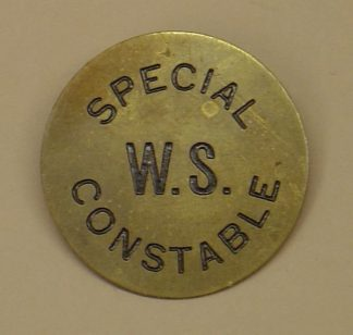 EAST SUFFOLK SPECIAL CONSTABULARY  Lapel badge