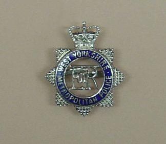 EAST YORKSHIRE METROPOLITAN POLICE QC ERII  star