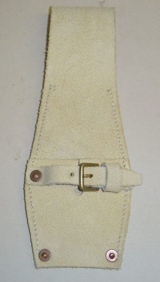 BRITISH WHITE BUFF LEATHER - SLADE-WALLACE - 1888 equipment Leather frog