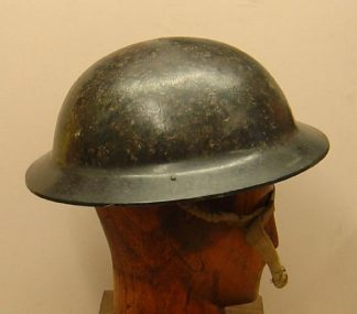 BRITISH WWII BAKERLITE private purchase 'soup-bowl' helmet