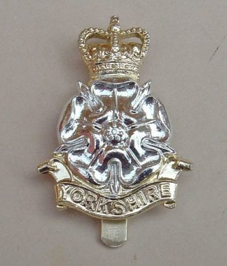 YORKSHIRE BRIGADE a/a cap badge