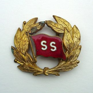 'ELLERMAN CITY LINE Ltd.' Officer's enamel and Gilt cap badge on Gilt wreath.