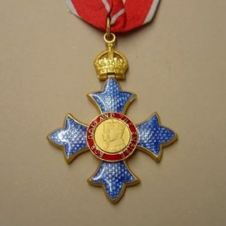 COMPANION OF THE BRITISH EMPIRE neck badge Military