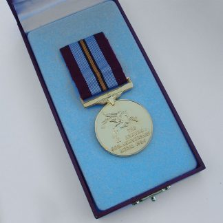 ARNHEM 50th ANNIVERSARY medal, in plush fitted case.