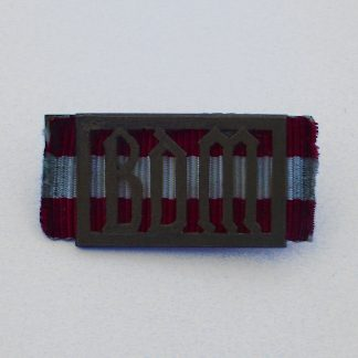 GERMAN THIRD REICH B.D.M. PROFICIENCY BADGE Broach fixing.