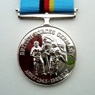 BRITISH FORCES GERMANY MEDAL - Full size, ready for wear, on broach pin.