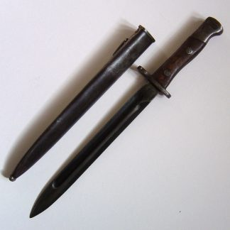 SIAM MAUSER 'knife' BAYONET with Scabbard. Type 46. or mod 1903.