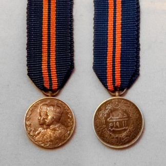 DELHI DURBAR 1911 miniature medal contemporary manufacture