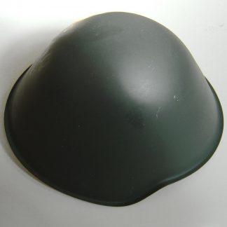 East German (D.D.R.) Army Steel Combat Helmet complete