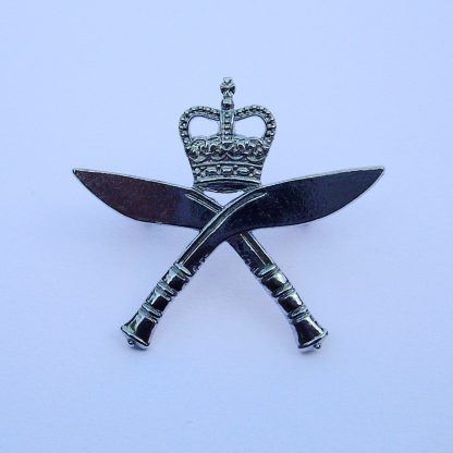 ROYAL GURKHA RIFLES - OR's Bright Nickel plated