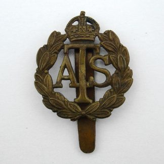 A.T.S. KC gilding metal cap badge