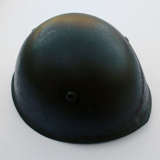ITALY - Mod.1933 Steel combat helmet, complete with liner and chinstrap.