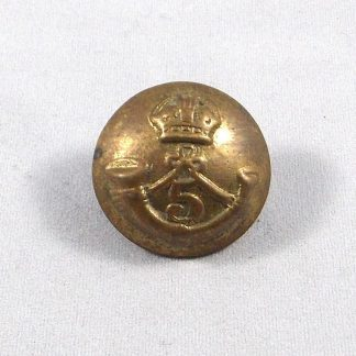 5th Maharatta Light Infantry - KC 26 mm or's cast brass button