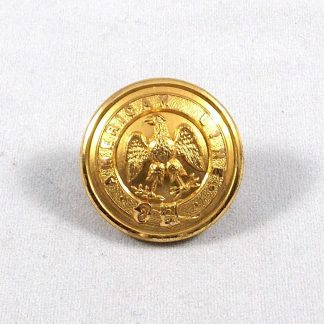 AMERICAN LINE 27 mm Gilt button -  Monnery and Son - London & Southampton -