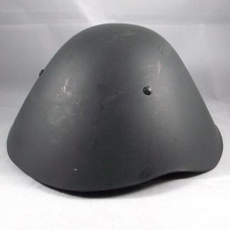 East German (D.D.R.) Army 'Parade' fibre/plastic Combat Helmet complete