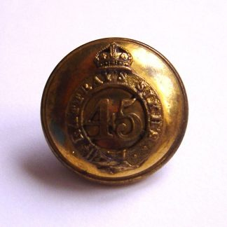 45th Sikh Regiment KC 25 mm Officer's gilt button