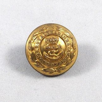 ROYAL MARINE LIGHT INFANTRY QVC 25mm Officer's gilt button