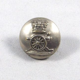 ROYAL ARTILLERY QVC ORs 24mm brass button