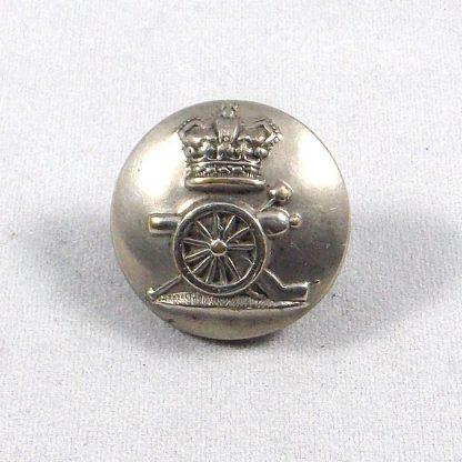 ROYAL ARTILLERY QVC ORs 24mm brass button