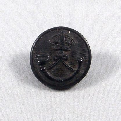 KRRC - King's Royal Rifle Corps KC 23 mm or's Horn Button