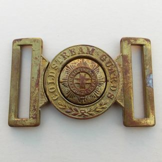 COLDSTREAM GUARDS OR's Brass interlocking Belt Buckle