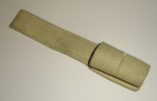 BRITISH KHAKI WEBB FROG FOR No.9 BAYONET