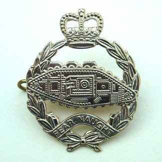 ROYAL TANK REGIMENT - QC OR's w/m cap badge 1956-1995 pattern (original)