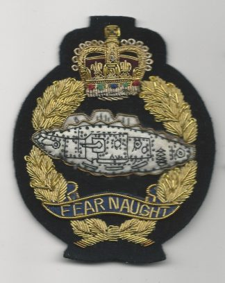 ROYAL TANK REGIMENT QC Bullion embroidered blazer badge