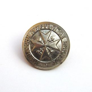 ST.JOHN'S AMBULANCE SERVICE 24mm nickel plated or's button