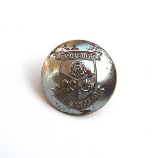 Hampshire Fire Brigade 24mm nickel plated button