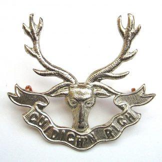 SEAFORTH HIGHLANDERS w/m Glengarry Badge re-strike