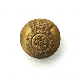 Duke of Lancaster's Yeomanry OR's 24 mm  gilding metal button