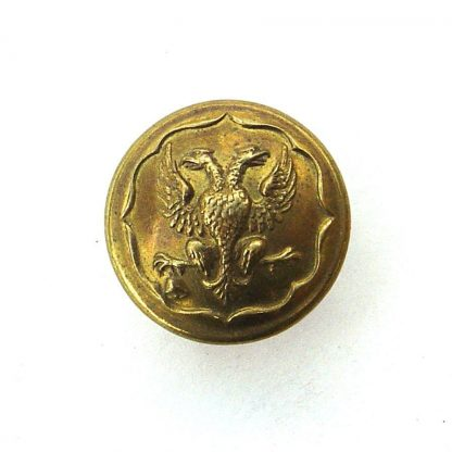 Lanarkshire Yeomanry OR's 24 mm  gilding metal button